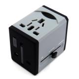 商务双USB转换插头